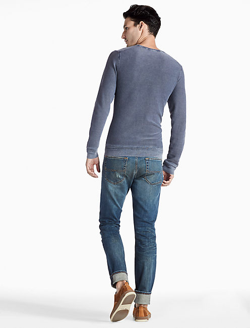 WELTER WEIGHT SWEATER HENLEY,