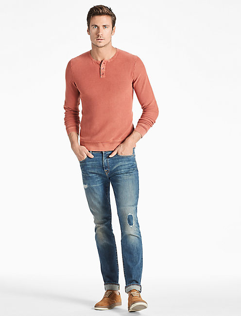 Lucky Welter Weight Sweater Henley