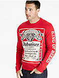 BUDWEISER SWEATER,