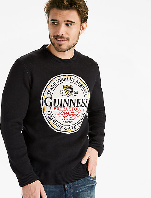 GUINNESS SWEATER, MOONLESS NIGHT