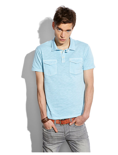 PACIFIC POLO, SKY BLUE