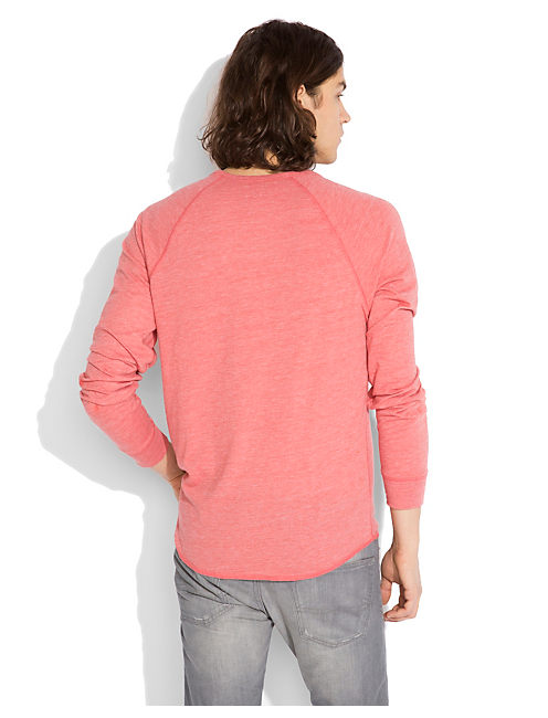 TRIBLEND LS HENLEY, MINERAL RED