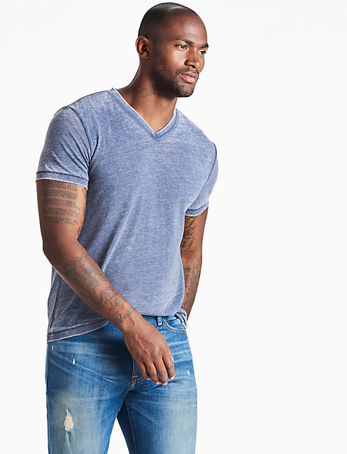 VENICE BURNOUT V-NECK,