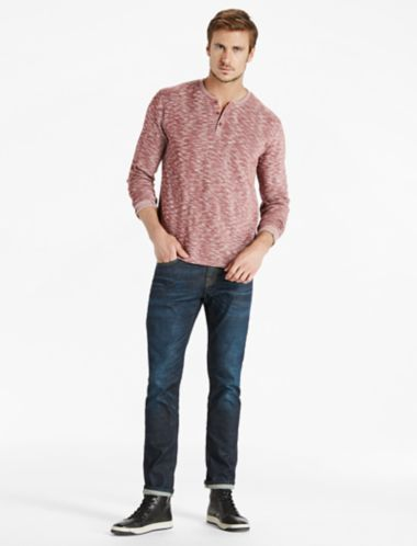 Lucky Twisted Slub Henley