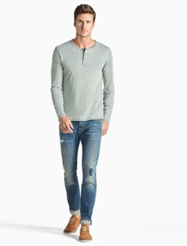 Lucky Venice Burnout Henley