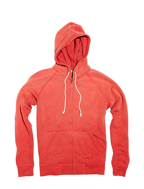 FULL ZIP HOODIE, #6676 BAKED APPLE