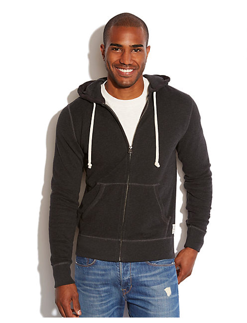 HEATHER HOODIE, CHARCOAL
