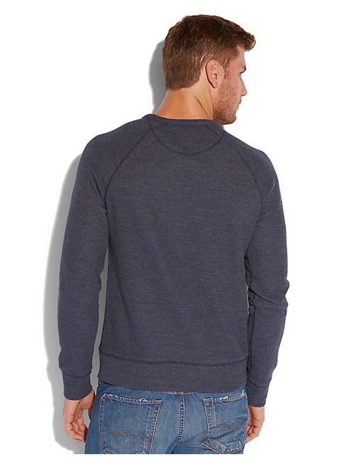 CREW, NAVY HEATHER
