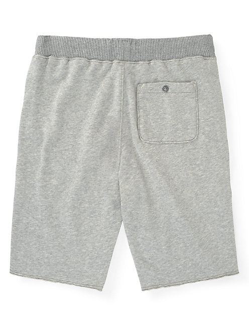 FLEECE SHORTS, LIGHT HEATHER GREY