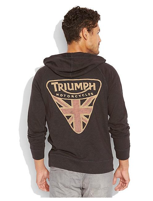 TRIUMPH BADGE, MOONLESS NIGHT