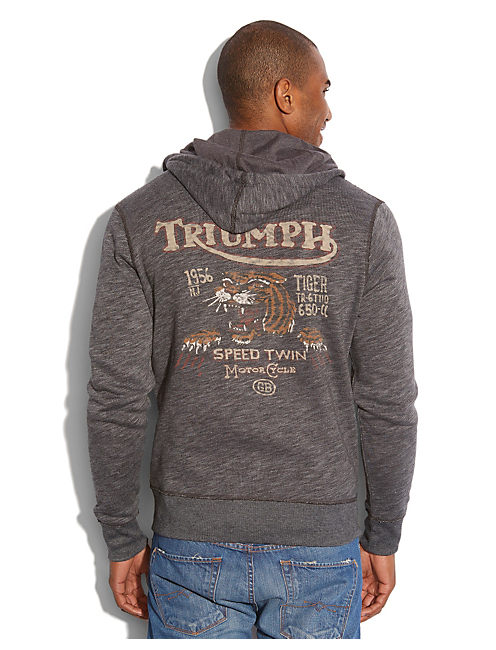TRIUMPH TIGER HOODIE, MOONLESS NIGHT