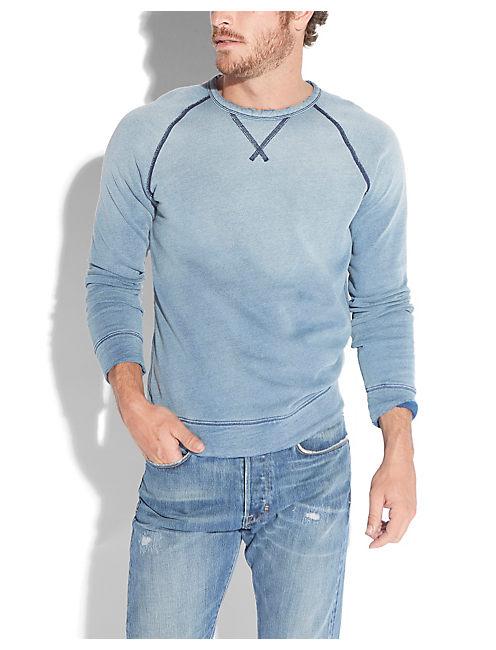 INDIGO RUNYON RAGLAN, #458 BLUE
