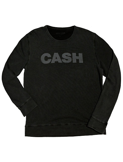 CASH SWEATSHIRT, BLACK MOUNTAIN