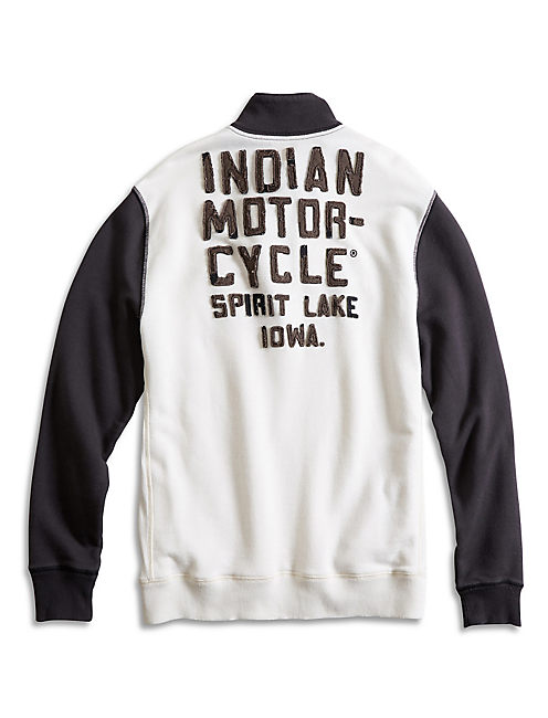 Lucky Indian Moto Mock Neck