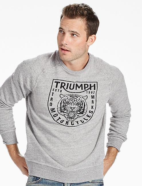 TRIUMPH CREW SWEATSHIRT,