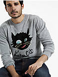 Lot, Stock And Barrel CAT SWEATSHIRT,
