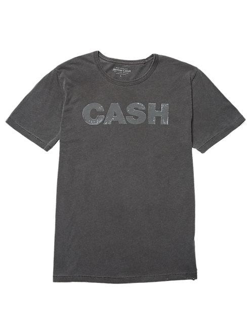 CASH  TEE, #9294 STONE BLACK