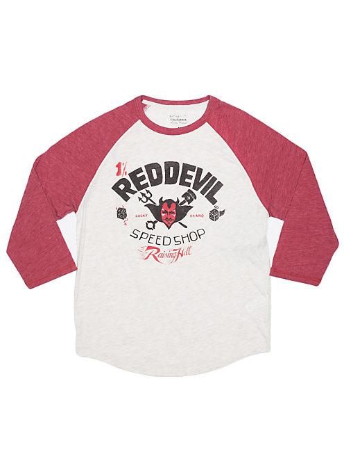RED DEVIL SPEED, STONE WHT/ RED HTR(18-1631TCX)