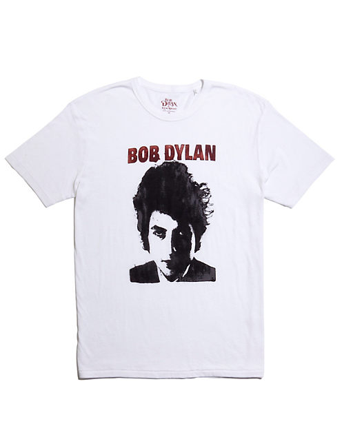 BOB DYLAN PHOTO TEE, BRIGHT WHITE