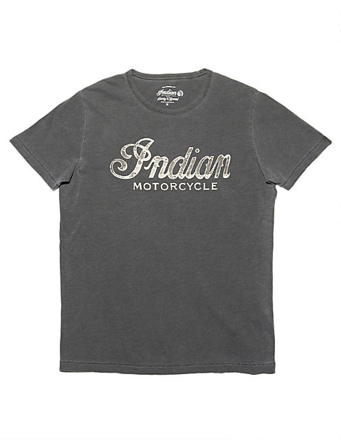 INDIAN LOGO TEE, MOONLESS NIGHT