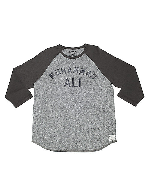 MUHAMMAD ALI BASEBALL, HEATHER GREY COMBO