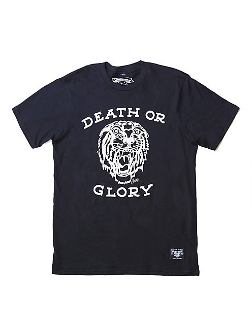 DEATH OR GLORY TEE, #001 BLACK