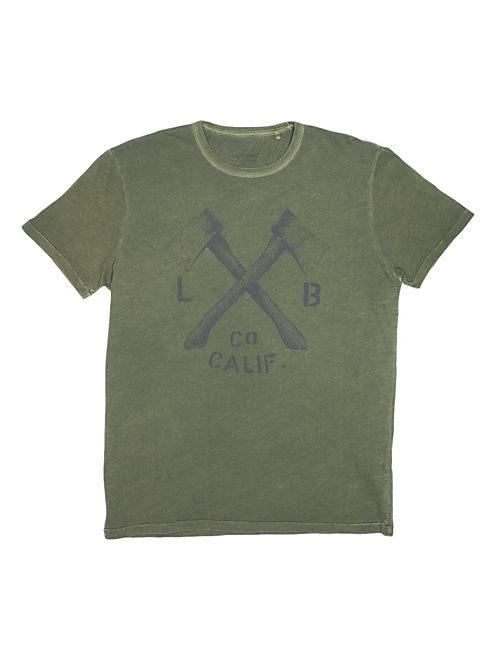 LB AXES, DEEP LICHEN GREEN