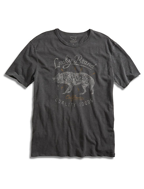 LUCKY BRAND WOLF, BLACK MOUNTAIN