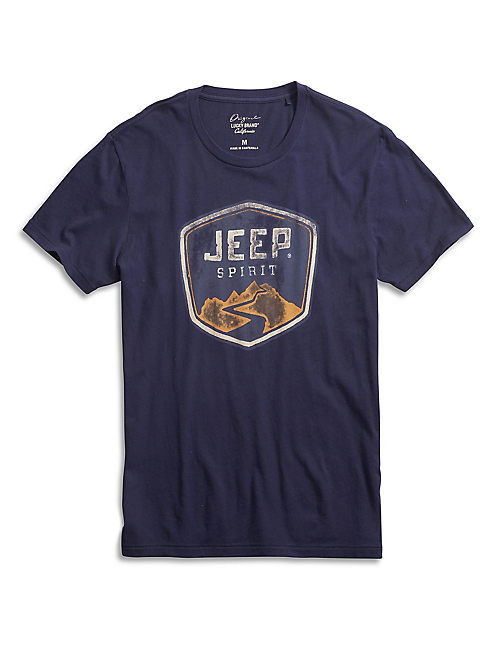 JEEP SPIRIT TEE, EVENING BLUE