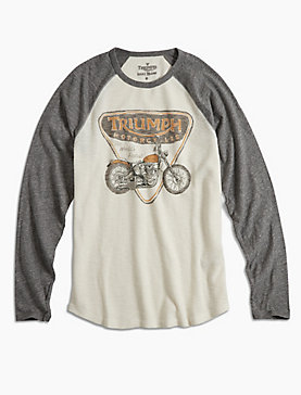TRIUMPH BADGE & BIKE