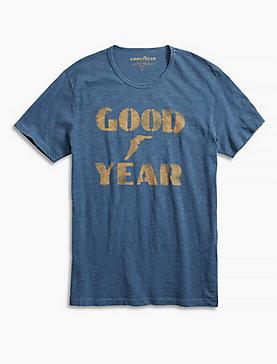 GOOD YEAR STENCIL TEE