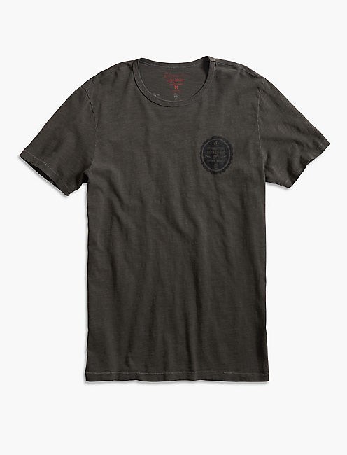 ORNAMENTAL CONIFER FOLLOW TEE, BLACK MOUNTAIN
