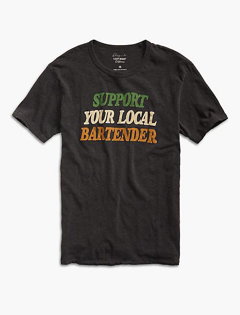 SUPPORT YOUR LOCAL BARTENDER, JET BLACK