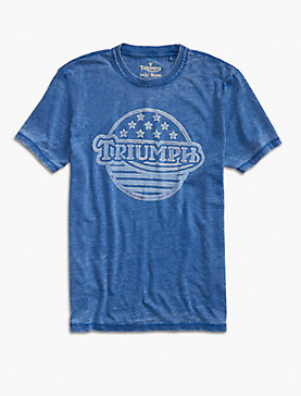 TRIUMPH STARS & STRIPES TEE