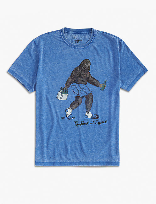 NEIGHBORHOOD SQUATCH TEE,