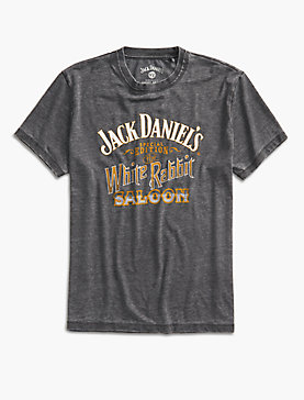 JACK DANIELS WHITE RABBIT TEE