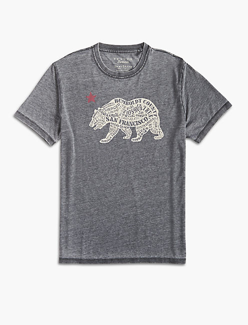 CALIFORNIA BEAR TEE,
