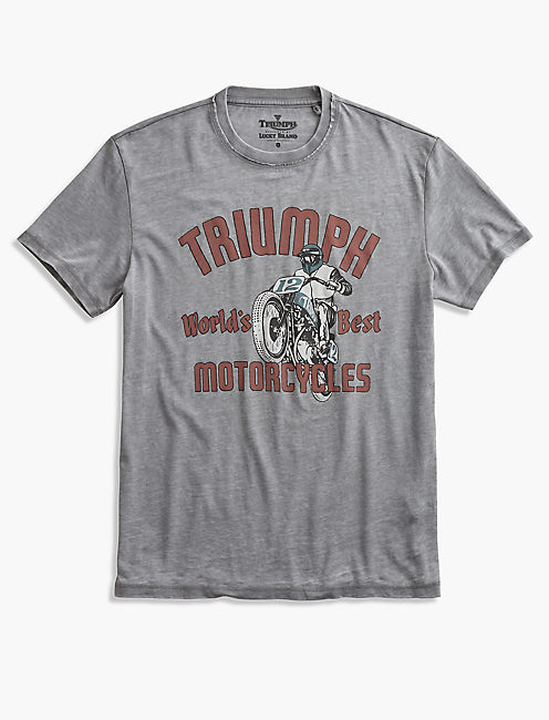 TRIUMPH WORLDS BEST TEE,