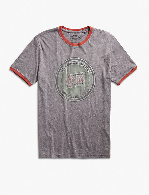 CASTROL SERVICE STATION TEE,