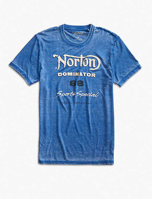 NORTON SPORTS SPECIAL TEE, MONACO BLUE