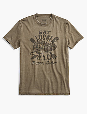 EAT LOCAL RAT TEE