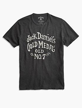 JACK DANIELS GOLD METAL TEE