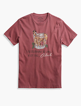 HOLIDAY COCKTAILS TEE