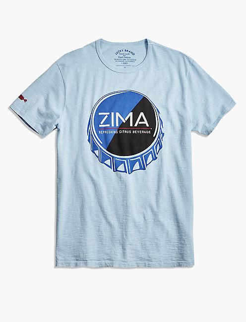 ZIMA BOTTLE CAP TEE,