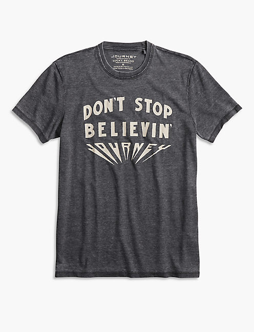 JOURNEY DON'T STOP BELIEVING TEE,