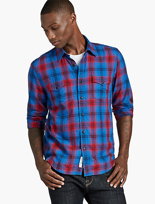 Plaid Western Shirt,