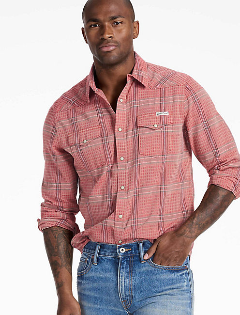 Long Sleeve San Gabriel Western Shirt,