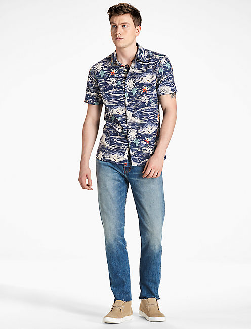 Blue Button Down Shirts for Men | Lucky Brand