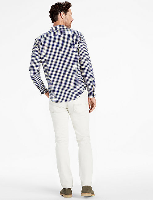 Long Sleeve 1 Pocket White Label SHIRT,