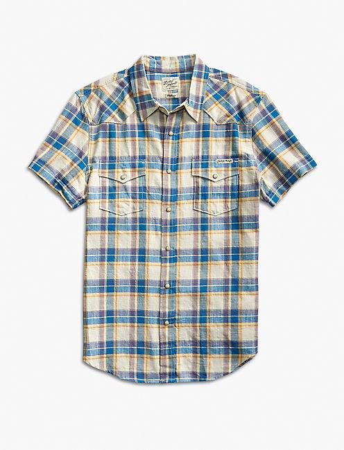 Heritage Plaid Western Shirt,